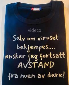Bilde av T-shirt, Selv om viruset blir bekjempet..