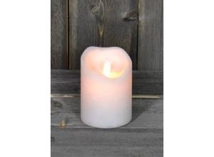 Bilde av Led lys med levende flamme. Liten
