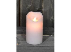 Bilde av Led lys med levende flamme. Stor