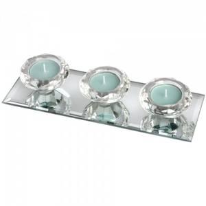Bilde av T-lysholdere på speilbrett