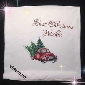 Bilde av Putetrekk- Best christmas wishes
