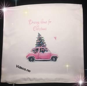Bilde av Putetrekk- Driving home for christmas