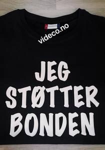 Bilde av T-shirt, JEG STØTTER BONDEN