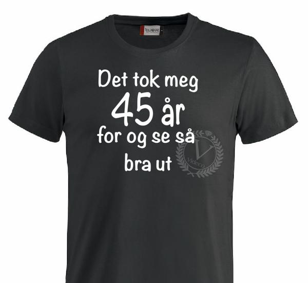 T-shirt, Det tok med 45 år for og se så bra ut