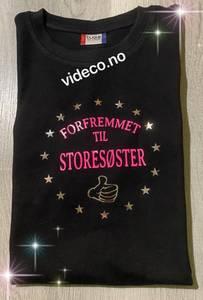 Bilde av T-skjorte- Forfremmet til Storebror/Storesøster