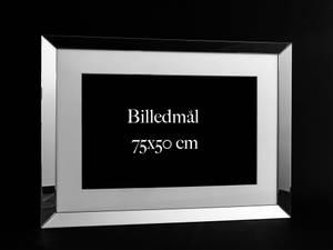 Bilde av Fotoramme m/speilramme, 75x50
