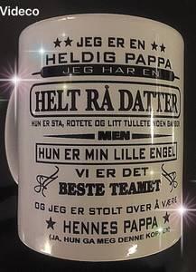 Bilde av Kopp- Jeg er en heldig pappa...