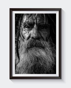 Bilde av PRINT - Mann med skjegg