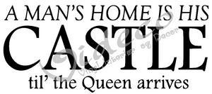 Bilde av A mans home is his castle