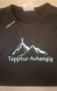 Bilde av T-shirt, Topptur Avhengig