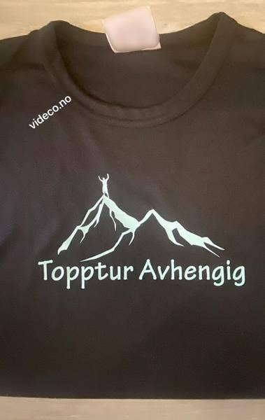T-shirt, Topptur Avhengig