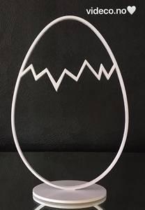 Bilde av Påskeegg i sett av 2 - 3D print