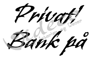 Bilde av Privat! Bank på