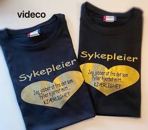 Bilde av T-shirt, Sykepleier