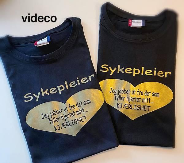 T-shirt, Sykepleier