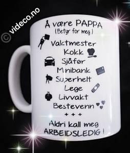 Bilde av Kopp- Å være Pappa (betyr for meg)
