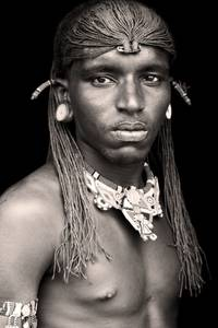 Bilde av Print - Samburu Warrior Kenya - FORHÅNDSBESTILLING