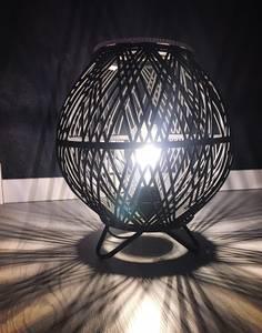 Bilde av Lampe, rund-sort