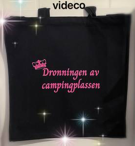 Bilde av Tøyveske, Dronningen av campingplassen