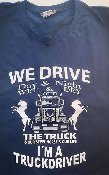 T-shirt- I´m a Truckdriver