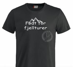 Bilde av T-shirt, Født for Fjellturer