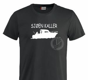 Bilde av T-shirt,  Sjøen kaller