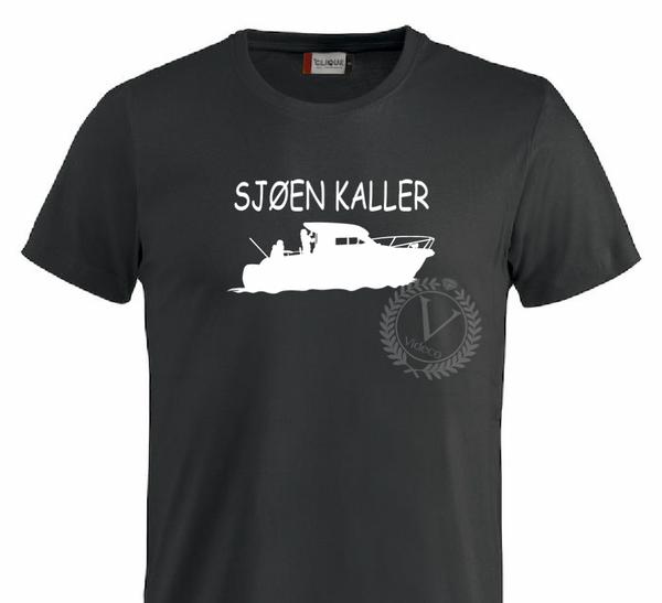 T-shirt,  Sjøen kaller