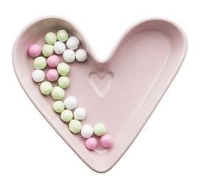 Bilde av Hjerteskål- rosa