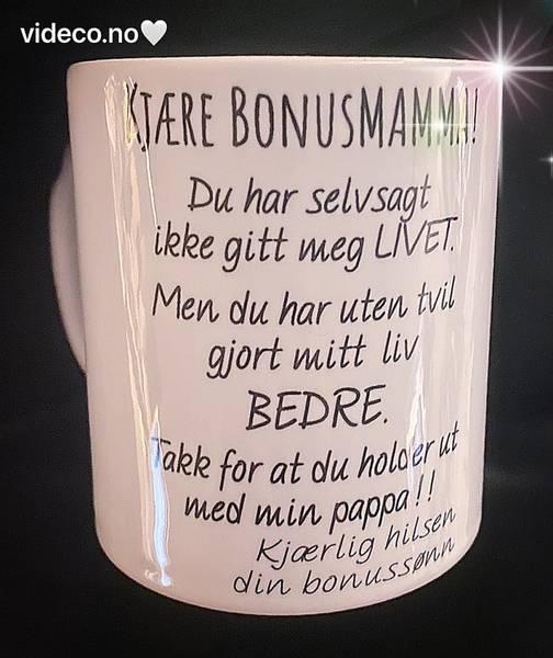 Kopp-Kjære bonusmamma/bonuspappa