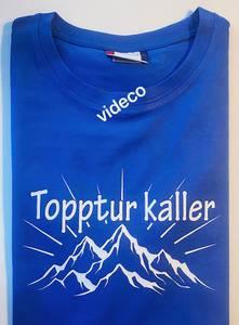 Bilde av T-shirt, Topptur kaller