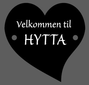 Bilde av Hytteskilt/ Velkommen til hytta