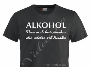 Bilde av t-shirt - Alkohol