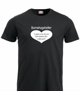 Bilde av T-shirt- Barnehagehelter