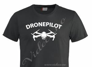 Bilde av T-shirt - Dronepilot dji