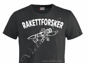 Bilde av T-shirt - Rakettforsker