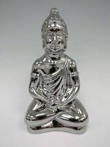 Bilde av Sittende Buddha i sølv
