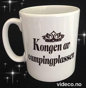 Bilde av Kopp- Kongen av campingplassen