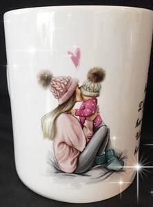 Bilde av Mamma og jente