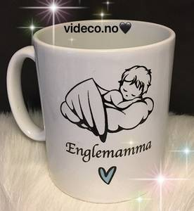 Bilde av KOPP-Englemamma/Englepappa m/barnets navn
