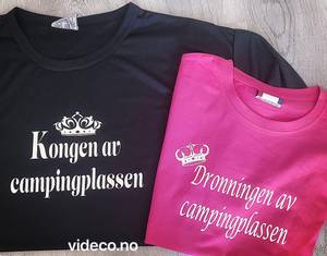 Bilde av T-shirt, Kongen av campingplassen