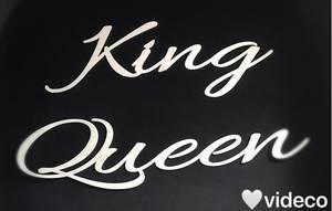 Bilde av King/ Queen- aluminium