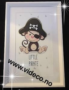 Bilde av Little pirat, Bilde m/ramme