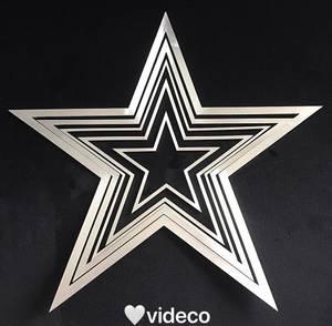 Bilde av Dekor stjerner, aluminium