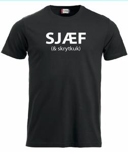 Bilde av T-shirt, SJÆF (& skrytkuk)