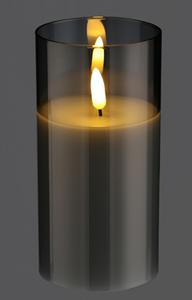 Bilde av Ledlys i glass, 15cm