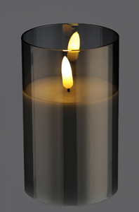 Bilde av Ledlys i glass, 12cm