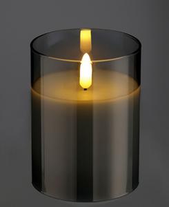 Bilde av Ledlys i glass, 10cm