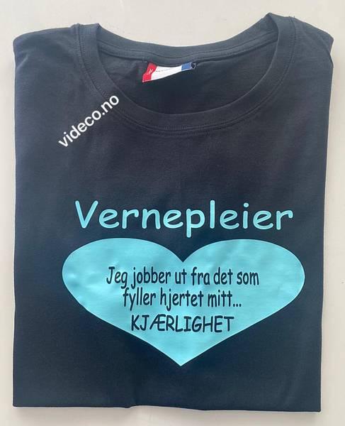 T-shirt , Vernepleier