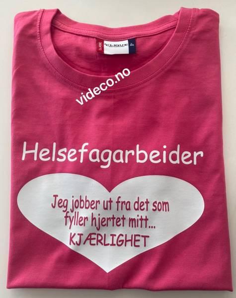 T-shirt, Helsefagarbeider