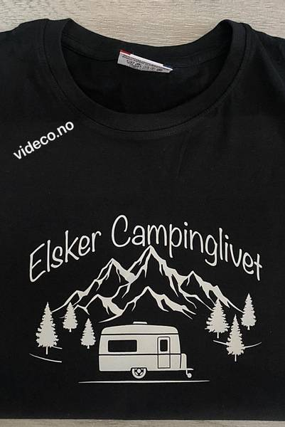 T-shirt, Elsker Campinglivet